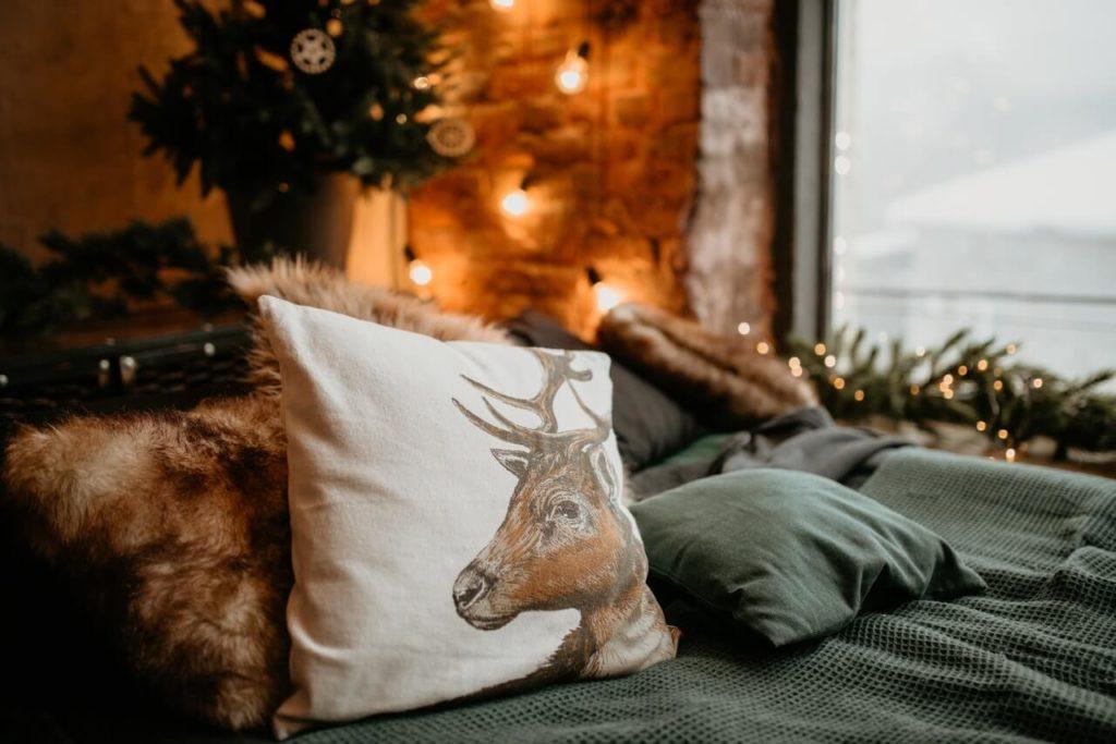 Pokój dekoracje świąteczne